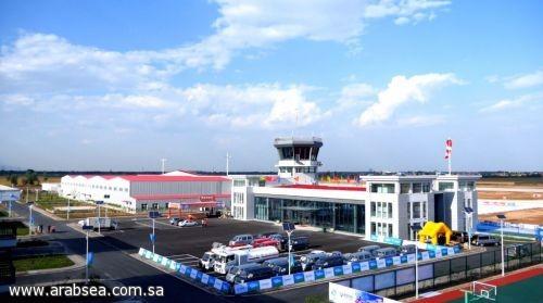 بالصور والفيديو السويلم يفتتح أول مطار رياضي في الصين
