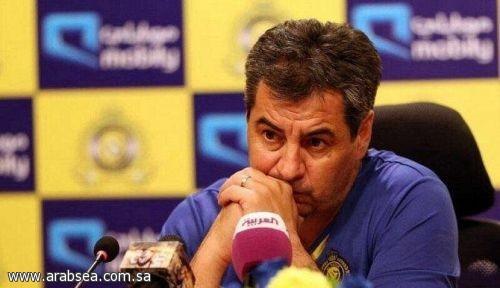 إدارة النصر تعلن عن إقالة مدرب الفريق الاورغوياني داسيلفا