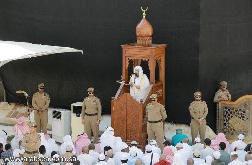إمام وخطيب المسجد الحرام يوصي بالتقرب إلى الله تعالى ودوام ذكره على كل حال .