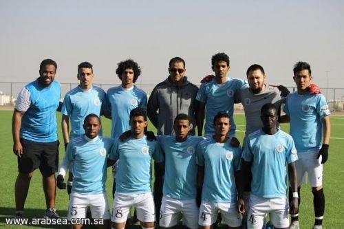 فوز فريق الجامعة الإسلامية لكرة القدم على فريق جامعة حائل