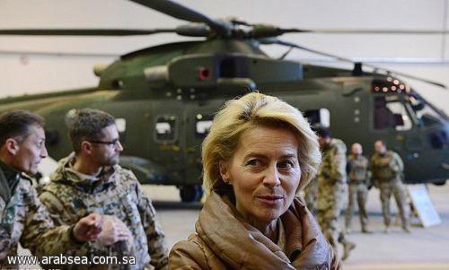 وزيرة الدفاع الألمانية: تدريب أكثر من 100 مهاجر سوري لإعادة الإعمار بعد انتهاء الحرب