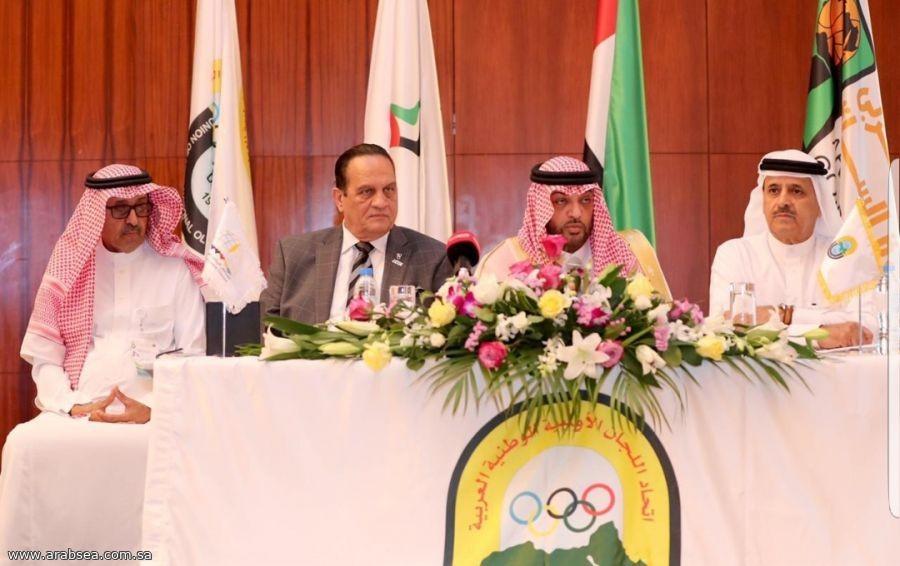 الأمير طلال بن بدر يفتتح مؤتمر رؤساء وامناء الاتحادات العربية بدبي