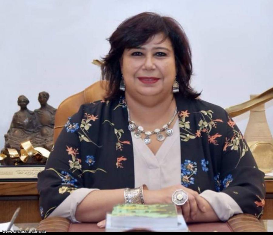 وزير الثقافة المصرية تفتتح فرع هيئة الكتاب بيروت بعد تطويره