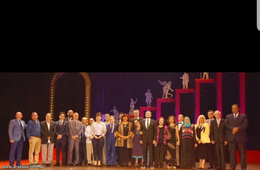 إطلاق فعاليات الدورة 12 من مهرجان المسرح القومى وزيرة الثقافة تكرم مبدعي المسرحي المصري