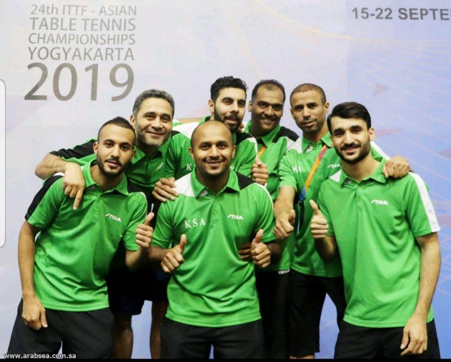 المنتخب السعودي لكرة الطاولة يصعد لمستوى (Division2) في بطولة العالم المقبلة