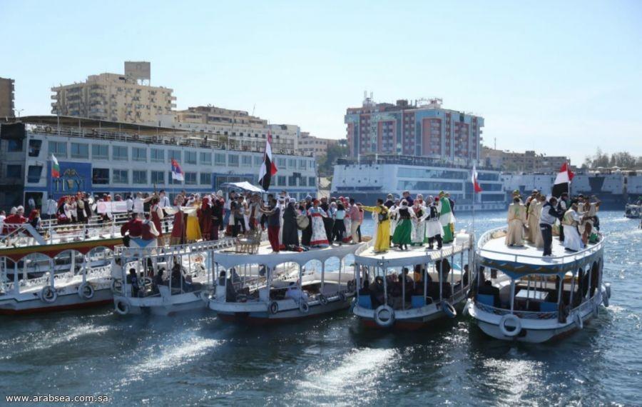 ١٤دولة عربية وأجنبية تشارك في مهرجان اسوان الدولى للثقافة والفنون