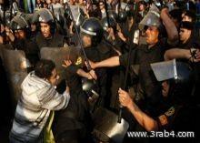 قوات الأمن المصرية تفرق مظاهرات احتجاجية باستخدام القنابل المسيلة للدموع وخراطيم المياه
