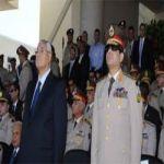 منصور والسيسي يشهدان احتفالات الجيش بذكرى ثورة يناير
