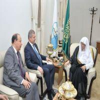 د. التركي : يستقبل وزير الشؤون الدينية التونسي