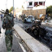 انفجار سيارة استهدفت أحد الفنادق بالقرب من القصر الرئاسي بمقديشيو