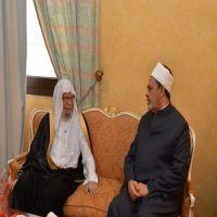 د. التركي يلتقي شيخ الأزهر