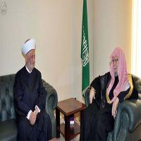 سماحة مفتي لبنان يشيد بمواقف خادم الحرمين الشريفين تاجه قضايا المسلمين