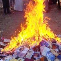 الإندبندنت: داعش يحرق آلاف الكتب والمخطوطات النادرة في مكتبة الموصل