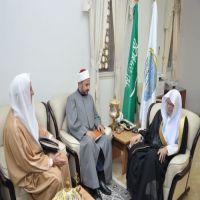 د. التركي يستقبل رئيس المجلس الأعلى للأئمة والشؤون الإسلامية في البرازيل
