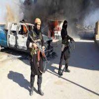 هجوم عنيف لتنظيم داعش الإرهابى على بلدة في شمال شرق سوريا