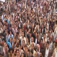 تظاهرتان في مدينتى صنعاء وأب ضد الحوثيين باليمن