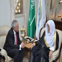 د. التركي يستقبل رئيس اتحاد المؤسسات الإسلامية في البرازيل