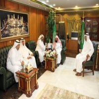 معالي الرئيس العام يتسلم التقرير نصف سنوي لأكاديمية المسجد الحرام للعام 1436هـ