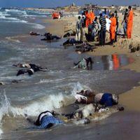 العثور على 50 جثة لمهاجرين غير شرعيين قبالة السواحل الليبية