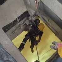 """المزاحمية: انتشال جثة شخص سقط داخل خزان """"بودرة"""" الأحجار"""