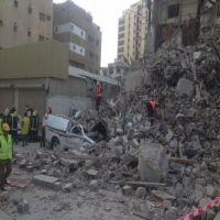 مصرع شخص نتيجة انهيار مبنى تاريخي بجدة