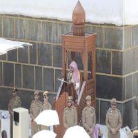 ضيوف الرحمن يؤدون أول جمعة في شهر ذي الحجة بالمسجد الحرام