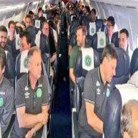 تحطم طائرة فريق كرة قدم برازيلي في كولومبيا