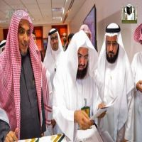 معالي الرئيس العام يدشن مركز الطباعة السريعة بإدارة المطبوعات والنشر بالوكالة