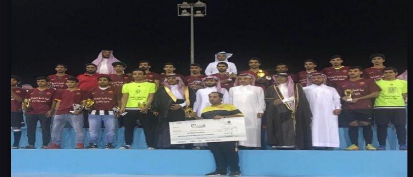 فريق الرياض يتغلب على فريق عمان ويحصل على بطولة خليجنا واحد الرمضانيه