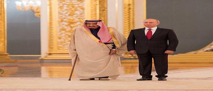 الرئيس الروسي يستقبل خادم الحرمين الشريفين