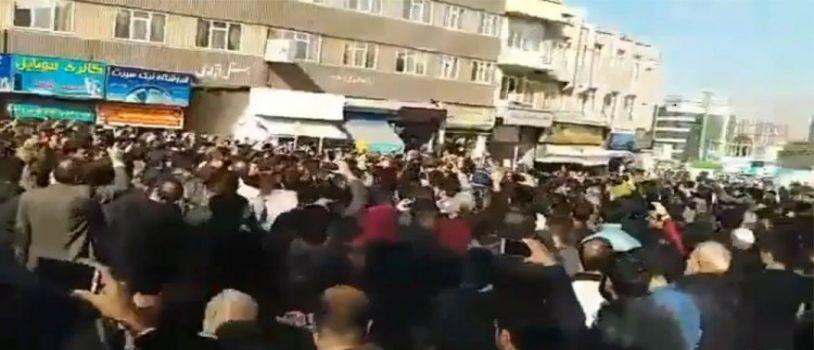 استمرار المظاهرات ضد الحكومة في إيران