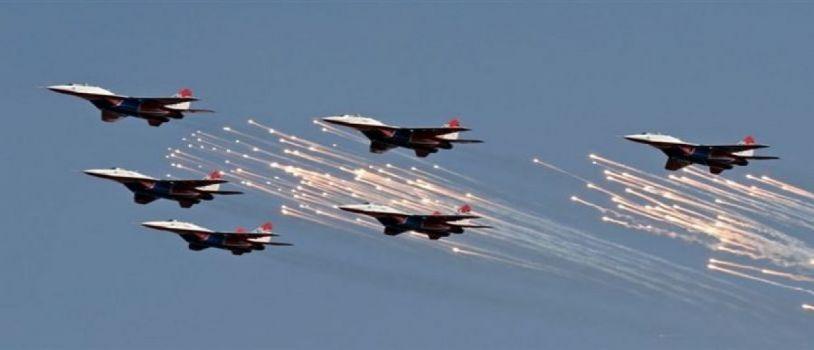 قصف تجمعات للحوثيين في صعدة