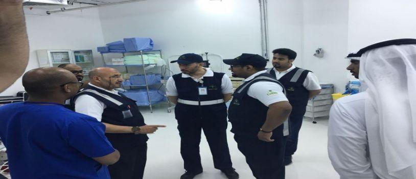 تنفيذا لتوجيهات خادم الحرمين الشريفين وزير الصحة يتفقد مستشفى الحرم المكي الشريف