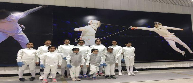 30 لاعبا في ختام تنشيطية ( المبارز الأولمبي )