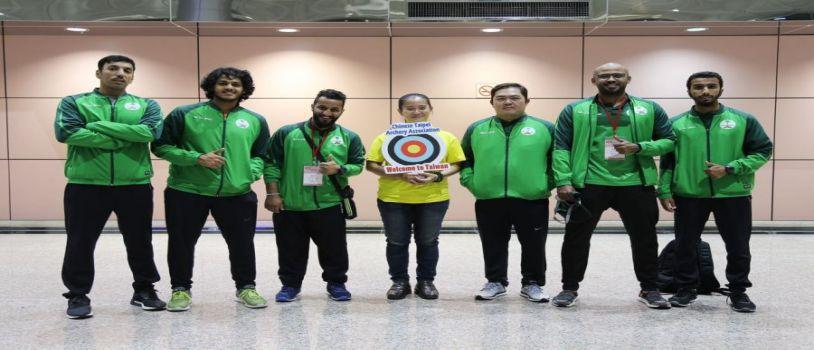 """أخضر السهام يصل """"تايوان"""" استعداداً للآسيوية"""