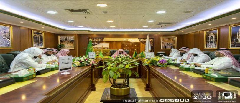 السديس : يطلق حملة خدمة الحاج وسام فخر لنا في عامها السادس