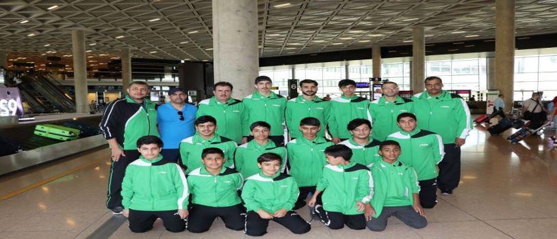 طاولة الاخضر تصل للأردن للمشاركة في بطولة غرب آسيا
