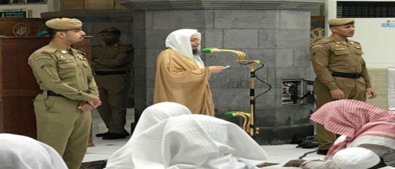 احياء للسنة النبوية .. أدى المصلون صلاة الخسوف بالمسجد الحرام