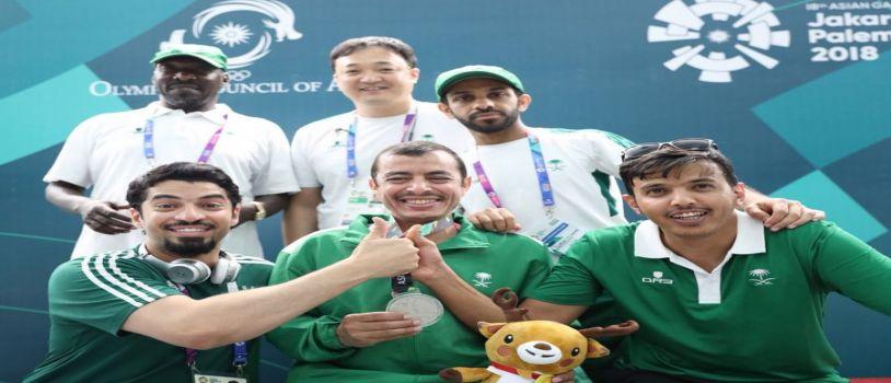 الحربي يحقــق أول ميدالية سعـودية في الدورة الآسيــوية