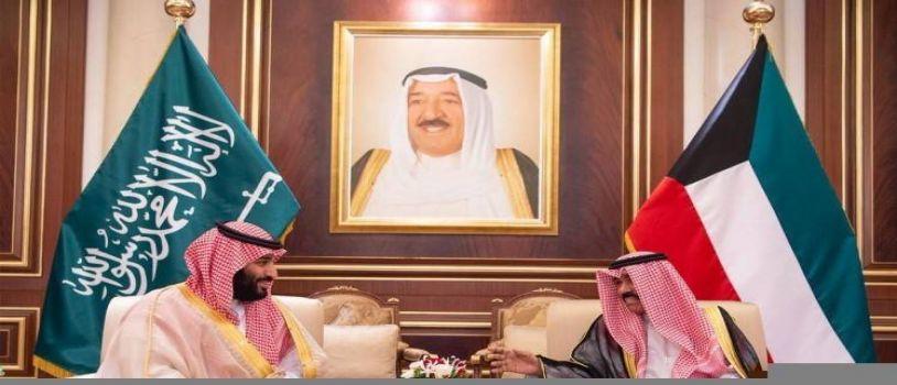 سمو ولي العهد يصل الكويت في زيارة رسمية