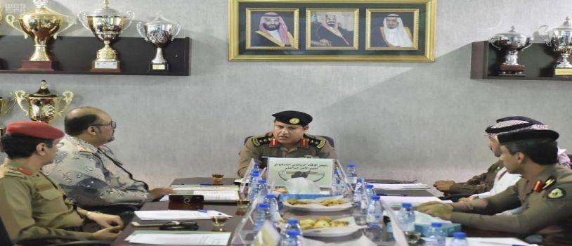 رؤساء لجان بطولة الرماية العسكرية يناقشون استعداداتهم