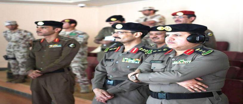 رئيس اتحاد قوى الأمن يتفقد جاهزية ميادين الرماية