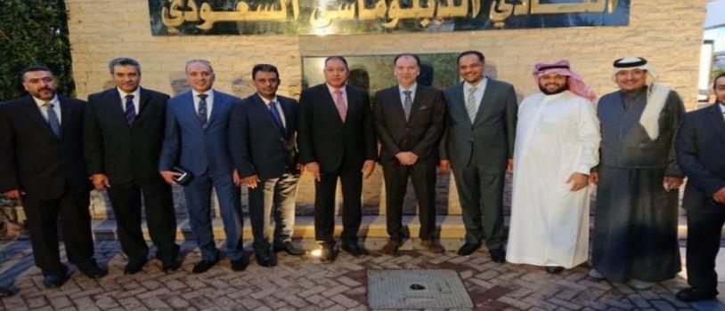 السفير نقلي: السفارة مهيأة لخدمة القطاع التجاري والتنسيق مع الكيانات الاقتصادية المصرية