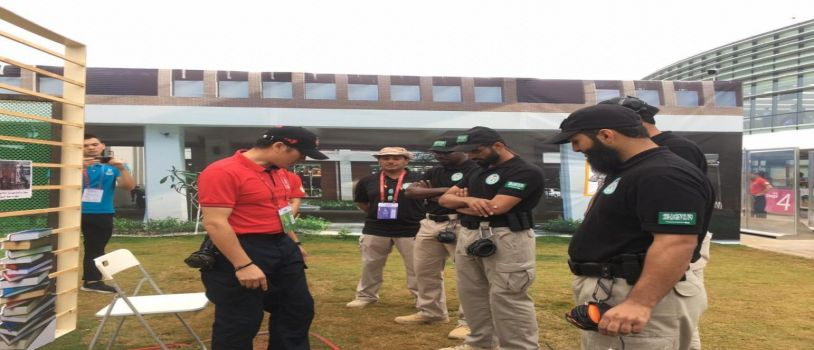 انطلاق بطولة الرماية الدولية الشرطية الثانية  بجوانزو