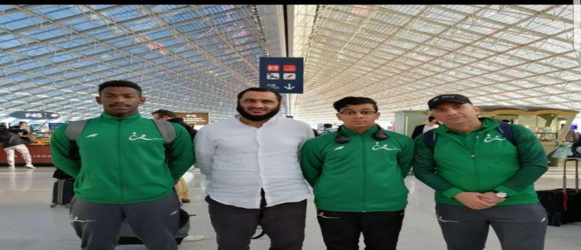 المنتخب السعودي للمبارزة في بطولة العالم