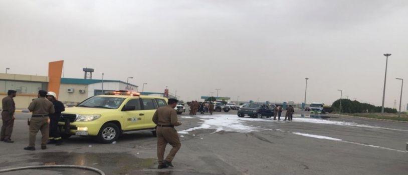 هجوم على نقطة أمنية في أبو حدريه بالدمام شرقي السعودية