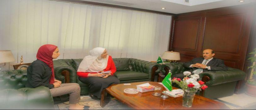 تعاون الملحقية السعودية مع البنك الأهلي المتحد لخدمة المبتعثيين