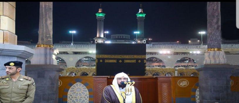 خلال كلمته بالمسجد الحرام.. معالي الرئيس العام لعموم المسلمين: تواصلوا وتزاوروا وتسامحوا في العيد