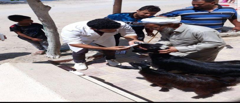 جامعة الإسكندرية تساهم في المشروعات التنموية بقرية العبيد بأبيس