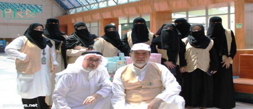 زيارة فريق سواعد الحي التطوعي لمستشفى الأطفال بمكة